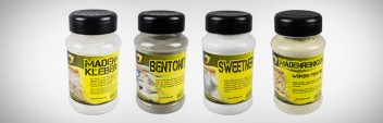 Sweetner, Madenreiniger, Mückentrenner, Bentonit