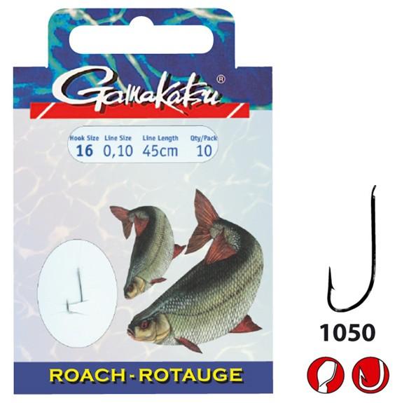 Gamakatsu Rotauge Vorfachlänge 45cm