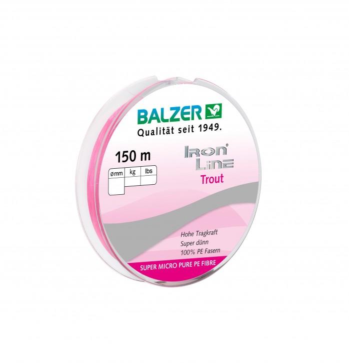 Balzer Iron Line Trout pink
