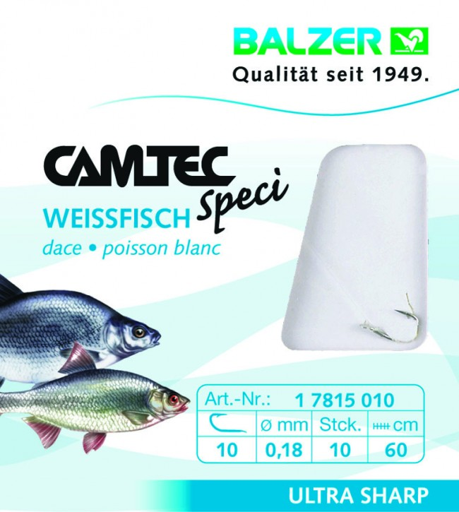 Camtec Weißfisch Silber