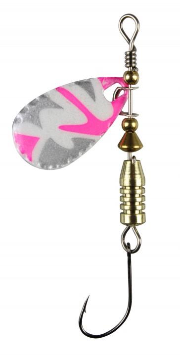 FTM Forellen Blinker 4g Pink Camou / Weiß