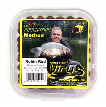 Next Generation Method Virus - Betaine Boilies Robin Red