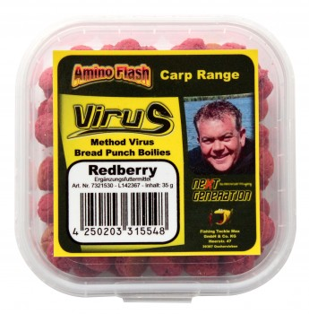 Next Generation Method Virus - Bread Punch Boilies Redberry