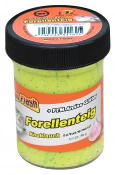 Forellenteig Glitter Knoblauch Grashüpfergrün