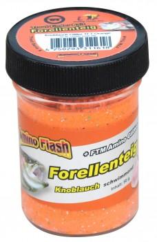 Forellenteig Glitter Knoblauch TFT-Orange