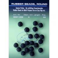 Jenzi Rubber Beads 6mm