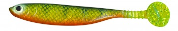 Gummifisch Speed Shad - Hot Perch 6 - 20 cm