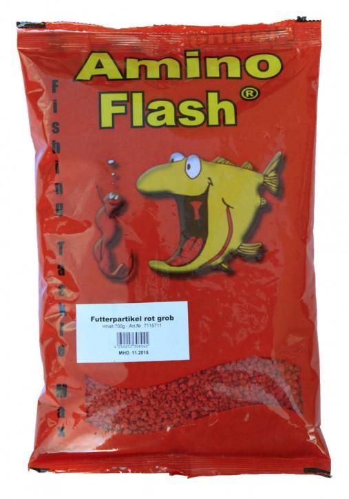Amino Flash Futterpartikel rot - grob