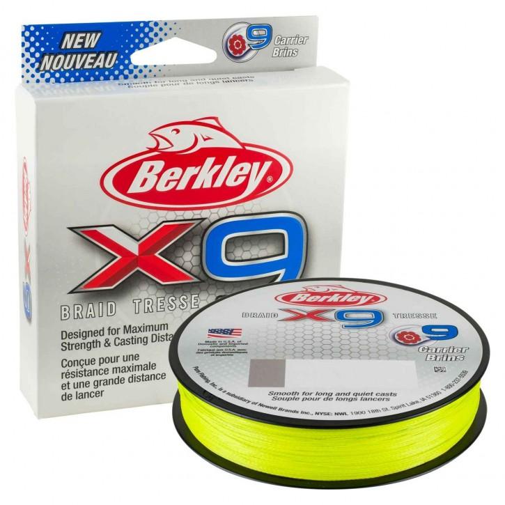 Berkley X9 Braid Fluro Green