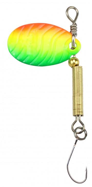 FTM Tornado Spinner 2g grün / gelb / rot / gold UV