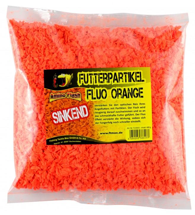 Amino Flash Futterpartikel fluo sinkend orange