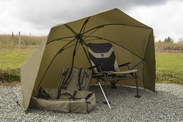 Korum Graphite Brolly Shelter