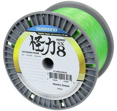 Shimano Kairiki SX8 Mantis Green