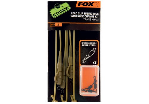 Fox Lead Clip Tubing Rigs + K / C Kit