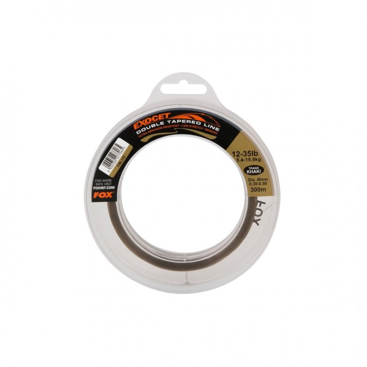 Fox Exocet Trans Khaki Tapered Mono 15-35lb