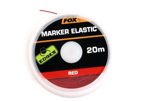 Fox Marker Elastic - 20m Red