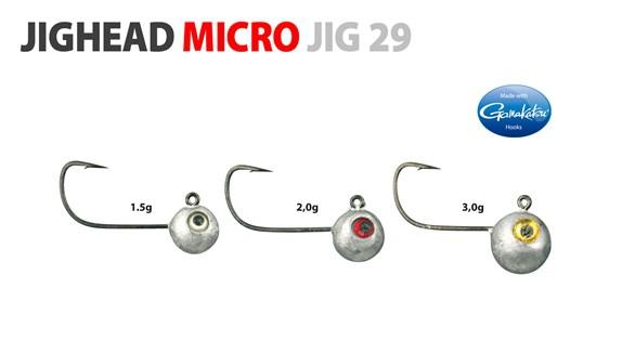 Gamakatsu Jighead Micro - Jig 2 3.0g