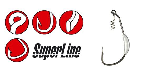 Gamakatsu Worm Weighted  Super Line Spring Lock
