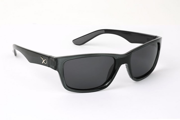 Matrix Eyewear Trans Black Casual Grey Lense