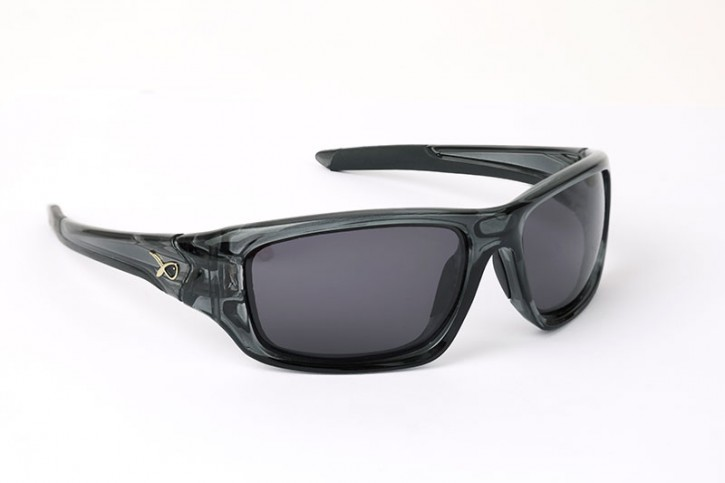 Matrix Eyewear Trans Black Wraps Grey Lense