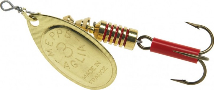 Mepps Spinner Agila - Original Gold Gr. 4