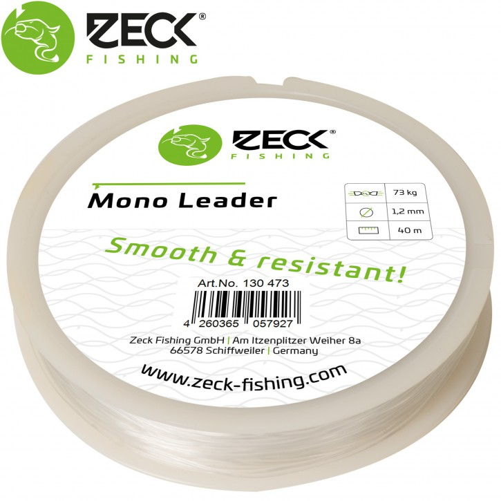 Zeck Fishing Mono Leader 1.2mm