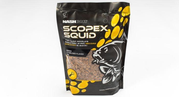 Nash Scopex Squid Flake 1kg
