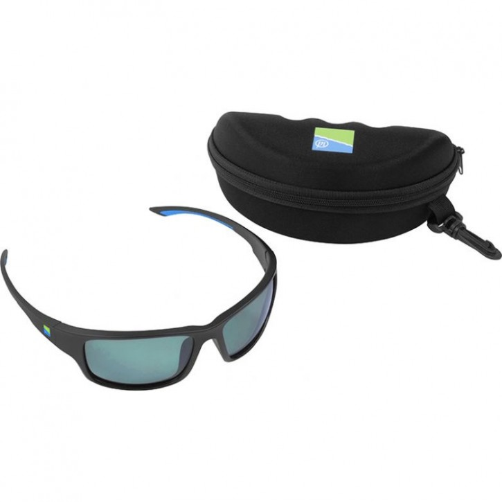 Preston Polarised Sunglasses - Green Lens