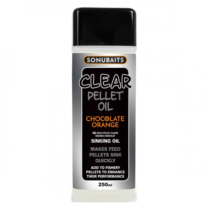 Sonubaits Clear Pellet Oil - Chocolate Orange