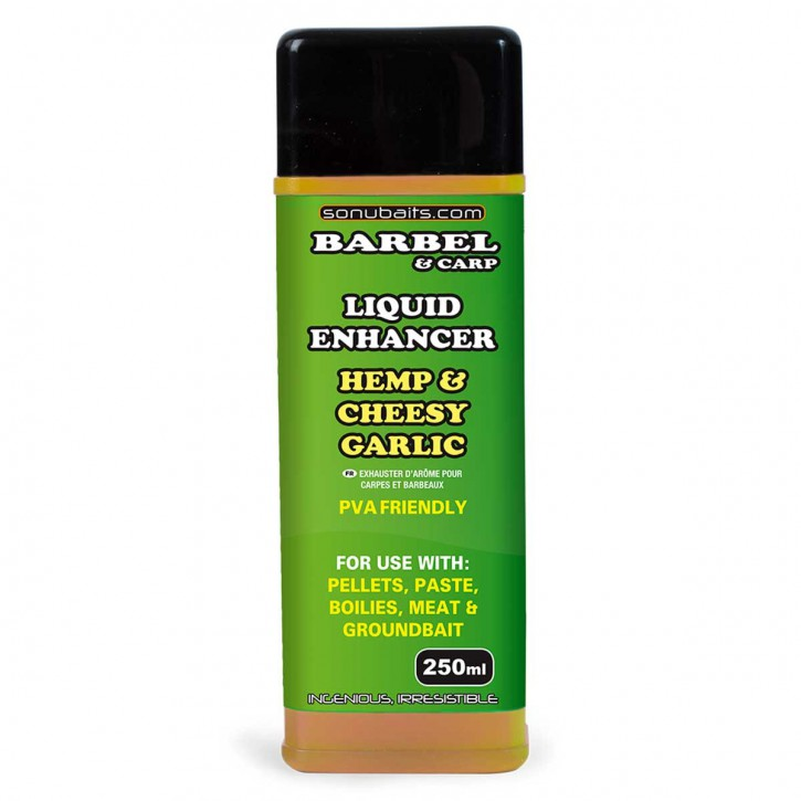 Sonubaits Liquid Enhancer - Hemp & Cheesy Garlic
