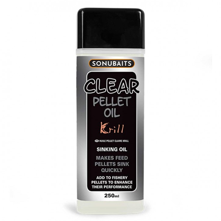 Sonubaits Clear Pellet Oil - Krill