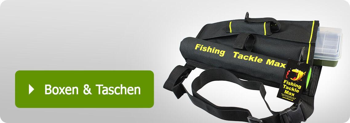 Tackelboxen und Taschen für Angler