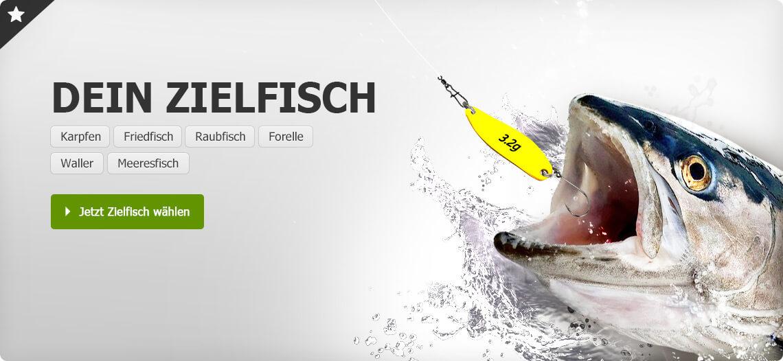 Sortiment für Zielfische