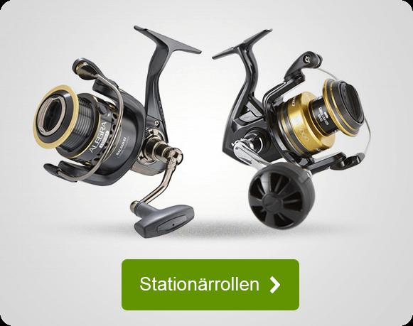 Stationärrollen für Angler