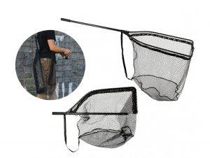 Zeck Fishing Folding Rubber Net Kescher