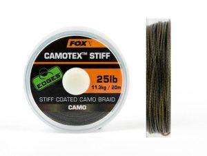 Fox Edges Camotex Stiff Karpfenschnur