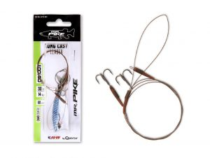mr pike long cast leader claw hook