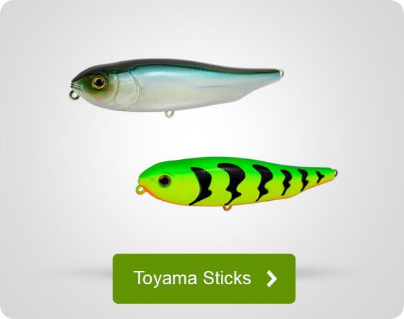 Toyama Stickbats von Seika Pro