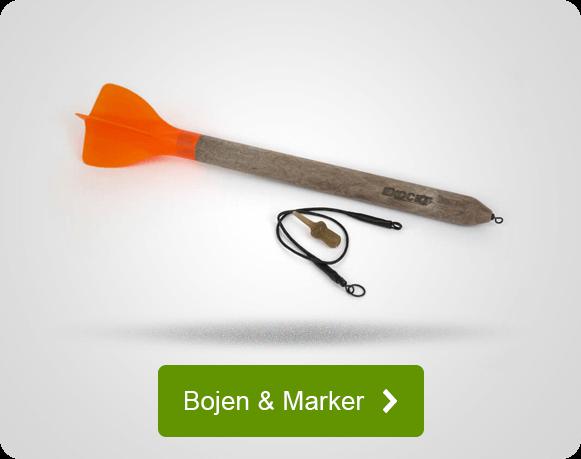 Bojen und Marker für Karpfenangler