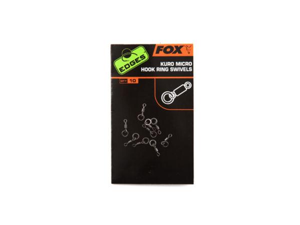 Fox Edges Kuro Micro hook Ring Swivels