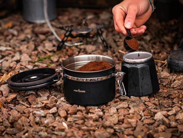 Fox Cookware Coffe and Tea Storage Anwendung 2
