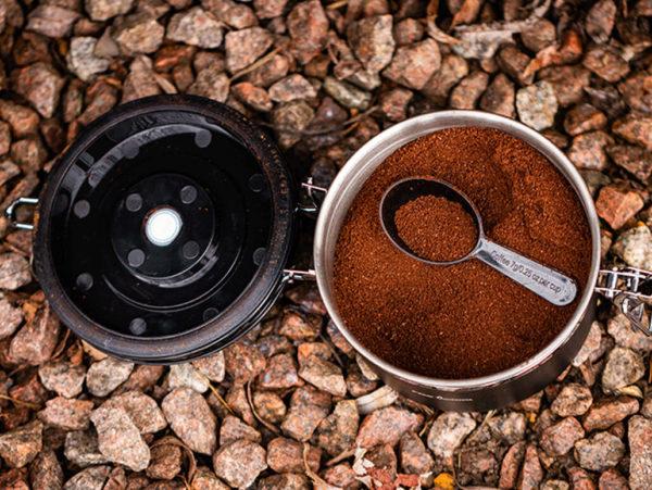 Fox Cookware Coffe and Tea Storage Anwendungsbeispiel