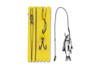 Black Cat Bouy and Boat Ghost Rig Double Hook