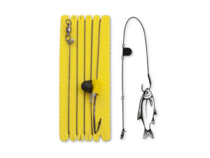 Black Cat Single Hook Rig with Rattle
